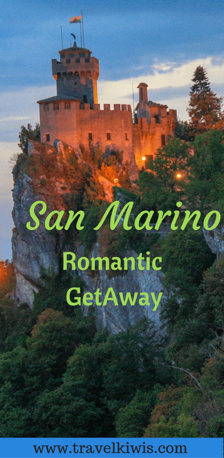 San Marino is the fairytale location to spend a weekend getaway. Shopping, restaurants and panoramic views - what more could you wish for.