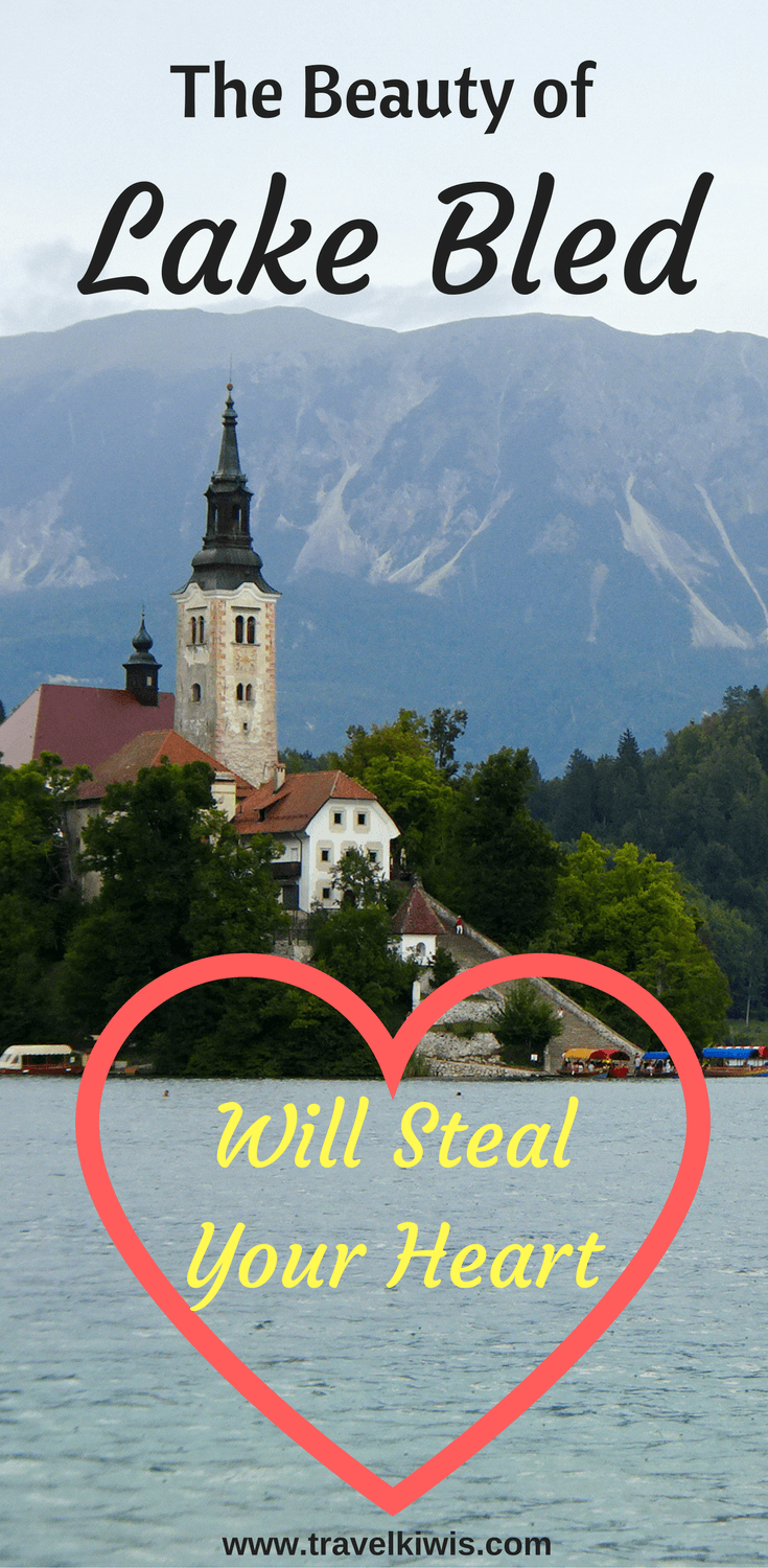 The beauty of Lake Bled, Slovenia with its backdrop of the Julian Alps, the hillside Bled Castle and an emerald lake, will steal your heart.