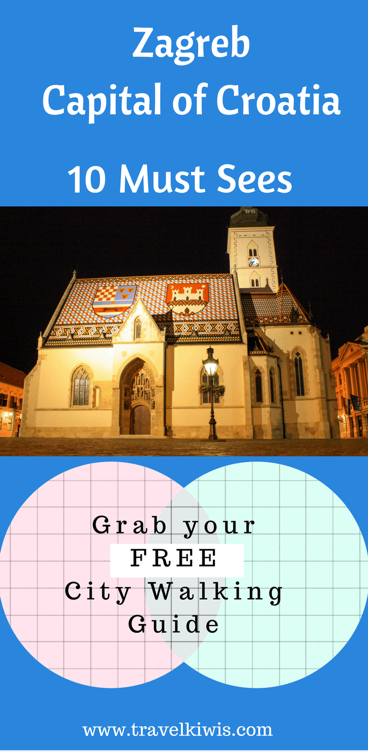 Zagreb, Croatia's Capital City is often underrated as a city to visit. What you will find is one of the best preserved old towns of Croatia.