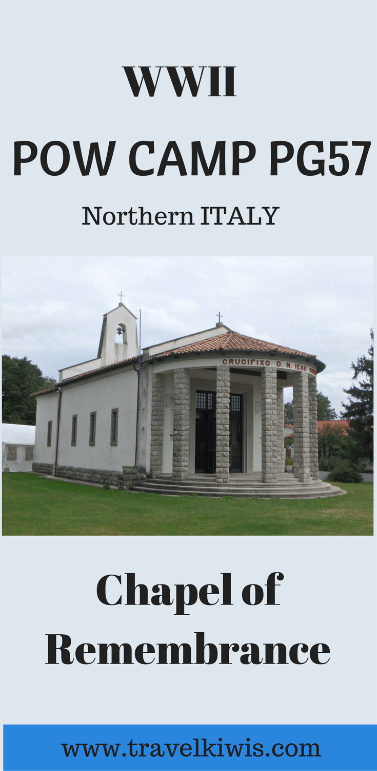 During WWII many prisoner of war camps existed in Italy to hold allied prisoners captured during the conflict. POW Campo P.G.57 Chapel has a story to tell.